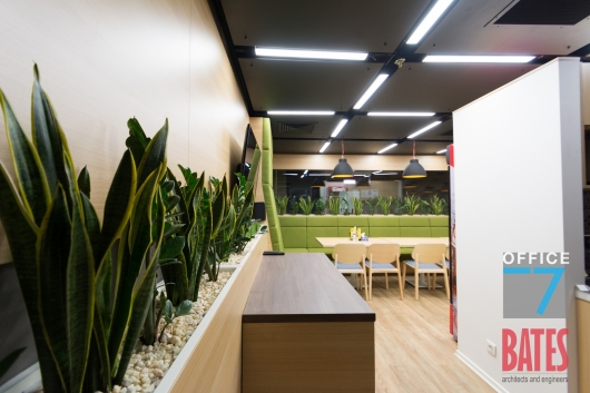 cafeteria office design