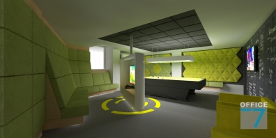 tudor game room - render 1