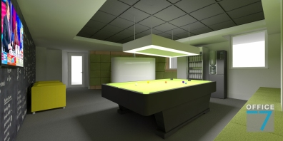 tudor game room - render 2