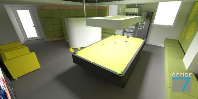 tudor game room - render 4