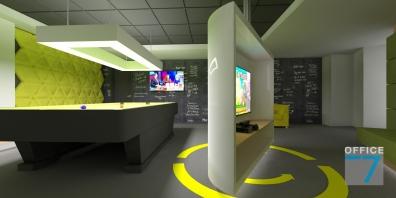 tudor game room - render 5