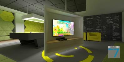 tudor game room - render 6