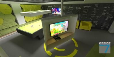 tudor game room - render 7