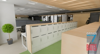 office lockers design