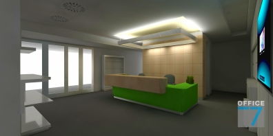 microsoft office reception design