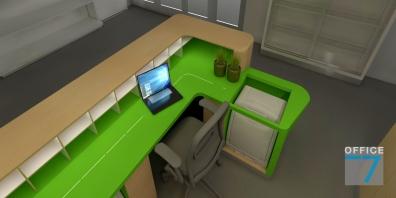microsoft office reception design