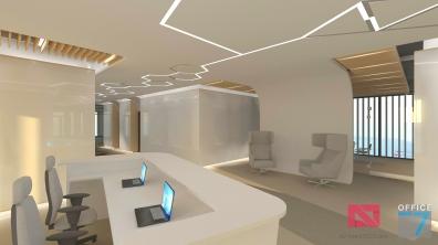 thales office design reception