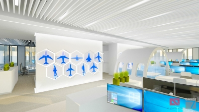 thales interior office design