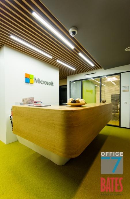 microsoft reception design