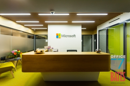 microsoft reception design