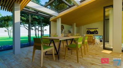 design interior locuinta cu etaj