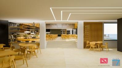 restaurant interior design hotel sinaia